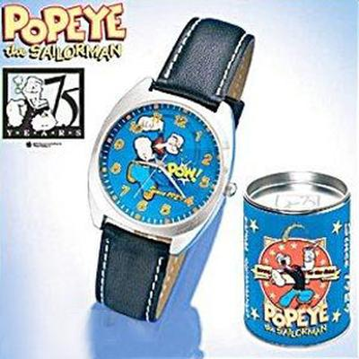 Click to get Collectible 75th Anniversary Popeye Watch