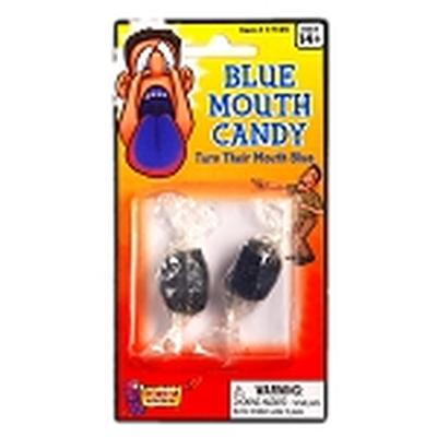 Click to get Blue Mouth Candy Prank