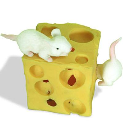 Click to get Stretchy Mice with Cheese Block