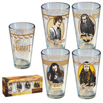Click to get The Hobbit Character Glass Set