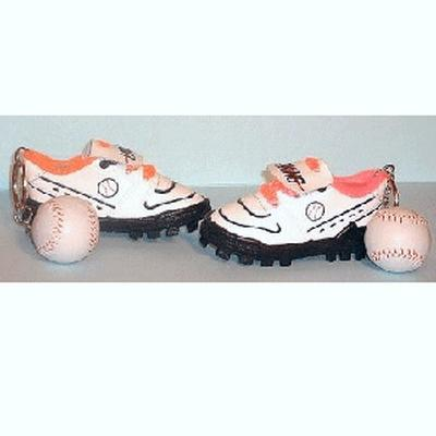 Click to get Baseball Cleats Keychain
