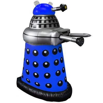 Click to get Doctor Who 30 Inflatable Blue Dalek