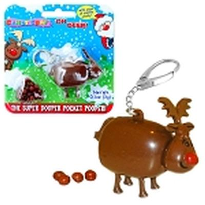 Click to get Pooping Reindeer Candy Keychain