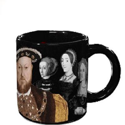Click to get Henry VIII and his Vanishing Wives Mug