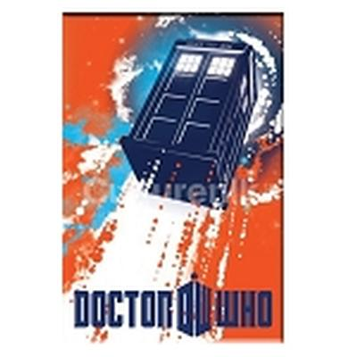 Click to get Doctor Who Magnet Tardis Taking Off