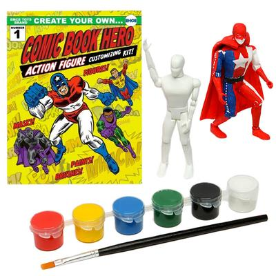 Click to get Create Your Own Comic Book Hero Kit
