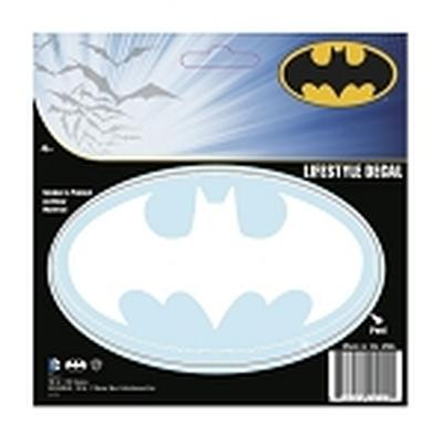 Click to get Batman Logo Car Sticker Solid White