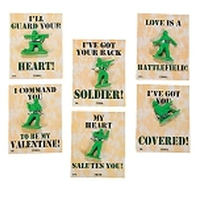 Click to get Army Guy Valentines 12 pack