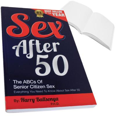 Click to get Sex After 50 Prank Book