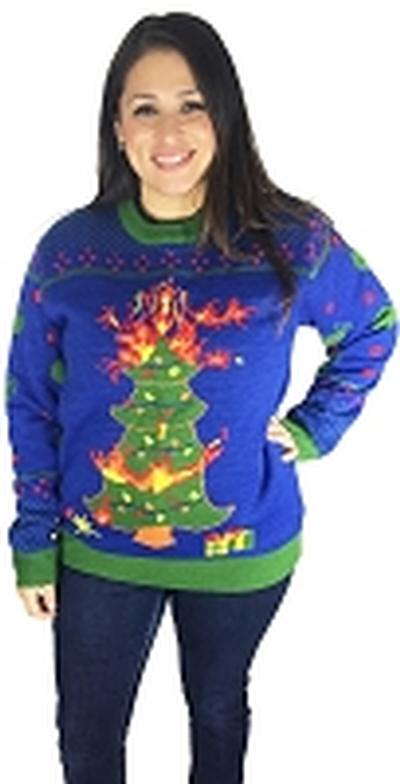 Click to get Light Up Ugly Christmas Sweater Oh Christmas Tree