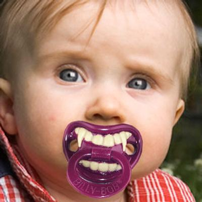 Click to get Lil Vampire Pacifier