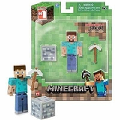 Click to get Minecraft 3 Steve Action Figure