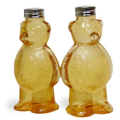Click to get Honey Bear Salt and Pepper Shakers